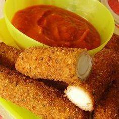 Bâtonnets de mozzarella maison - Homemade Cheese sticks