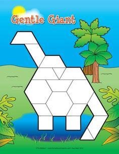 Jumbo Geometry, Lesson Plans - The Mailbox