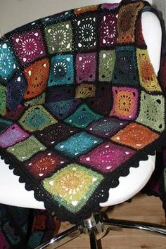 Bohemian Oasis - blanket - CROCHET - Knitting, sewing, crochet, tutorials, papercraft, jewlery, needlework, swaps, cooking and so much more on Craftster.org