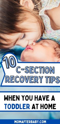 Do you have a planned cesarean? Are you worried you won't be able to take care of your newborn, your toddler AND recovery from your c-section? These 10 tips can help any mom to be prepare for the best recovery from a cesarean delivery when she also has a toddler (or 2 or 3) at home! Recovering From C Section, C Section Recovery, After Birth, Take Care Of Yourself, Delivery, How To Plan, Mom, Tips, Mothers