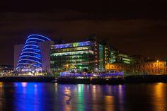 Convention Centre - Convention Centre in Dublin, Ireland Dublin Ireland, Convention Centre, Beautiful Landscapes, Times Square, Travel, Viajes, Trips, Traveling, Tourism