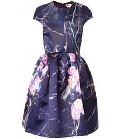 matchesfashion.com - Floral-print duchess-satin dress