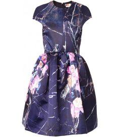 matchesfashion.com - Floral-print duchess-satin dress