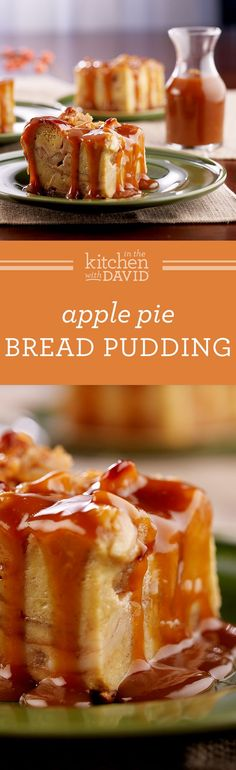The Best Apple Pie Bread Pudding You Will Ever Have