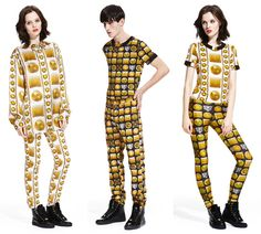 M.I.A. x Versus Versace collection.