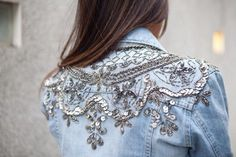 Blinged-out denim.