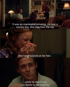This meme is a bit cheesy but The Notebook is my all time favorite love story