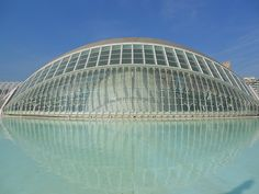 Hemisferic - Santiago Calatrava - Valencia... You have to go there to really appreciate this. It's amazing.