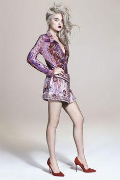 """Sky"" | Model: Sky Ferreira, Photographer: Andrew Yee, S Moda Magazine, March 2013"