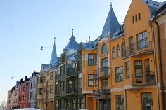 Ullanlinna district, Helsinki Helsinki, All Over The World, Finland, Beautiful Pictures, Multi Story Building, To Go, Mansions, House Styles, City Scapes