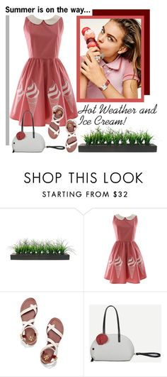 """Sweet Summer Days"" by pixidreams ❤ liked on Polyvore featuring Vintage and Tory Burch"