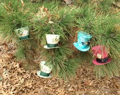 Mad Hatter Ornaments