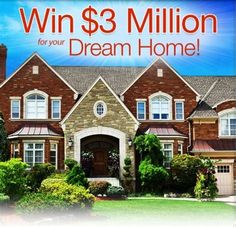 Publishers Clearing House Dream Home Sweepstakes - Bing images Instant Win Sweepstakes, Online Sweepstakes, My Dream, Dream Cars, Pch Dream Home, 3 Million Dollars, Win A House, Win For Life, Home Pub