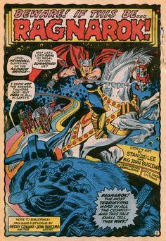 Thor by John Buscema