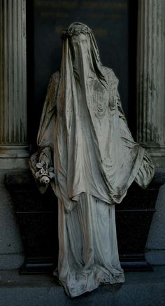 "e ""White Lady"" at Zentralfriedhof, Vienna by Marcus Propostus~"