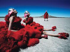 Bold Style - Alexander McQueen: Photo By Patrick Demarchelier Via Wmagazine