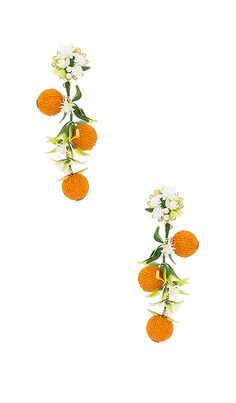 Shop for Mercedes Salazar Fiesta Orange Tree Earrings in Orange at REVOLVE. Free 2-3 day shipping and returns, 30 day price match guarantee.