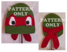 Crochet Pattern Teenage Mutant Ninja Turtle by top2toesboutique, $4.00