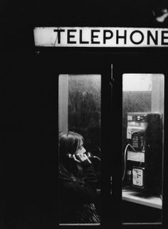 the thing about phone booths..