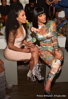 Michelle and Joseline