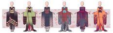 ...Kimono Outfit Adopts 2...CLOSED by Seelenbasar.deviantart.com on @deviantART