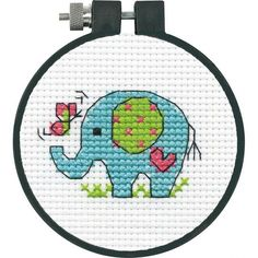 Dimensions Counted Cross Stitch Kit, Elephant