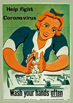 Glossy Poster Print Vintage Help Fight Viruses Wash Your Hands Often Vintage Advertisements, Vintage Ads, Vintage Posters, Poster Wall, Poster Prints, Look Vintage, Wall Collage, Wall Art, Picture Wall
