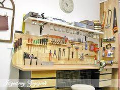 Znalezione obrazy dla zapytania jak uporządkować narzędzia w garażu
