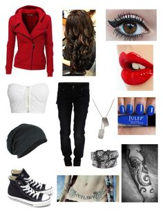 """Untitled #30"" by mamar23 ❤ liked on Polyvore featuring mode, Doublju, NLY Trend, Galliano, Converse, Charlotte Tilbury et CO"