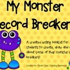This project is always a huge hit in my classroom!  The students love creating different monsters for each record breaking category!  $