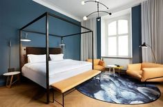 Luxe hotel tour: a historical Copenhagen building transformed into a Nordic design mecca: