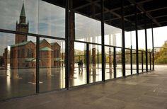 """""""David Chipperfield – Sticks and Stones"""", Neue Nationalgalerie, Berlino. Photo Erika Pisa"""