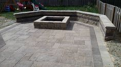 Dayton Patio. I like this slab but may be earth tones.
