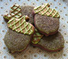 another version of Acorn Sugar Cookies