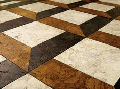 Globus Cork Tiles contemporary floor tiles
