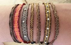 pulseras telar egipcio handmade in colombia www.wayuucolombiabarcelona