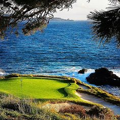 7th at Pebble. One of the greatest courses on the planet.  Also one that mere mortals, like myself, dream about playing but probably won't get the chance. ☹️ #pebblebeach #monterey #attproam #pgatour #golf #famousgolfholes #carmelbythesea #california #ilovegolf #beautifulview #californiacoast #jacknicklaus #thegolfchannel #golfphotography #montereylocals #pebblebeachlocals - posted by Robert Barber https://www.instagram.com/mountaintrudger. See more of Pebble Beach at…
