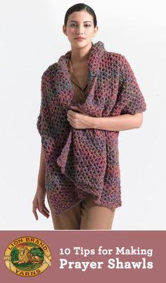 10 Truths: Knitting and Crocheting Prayer Shawls / Lion Brand Notebook - Lion Brand Yarn