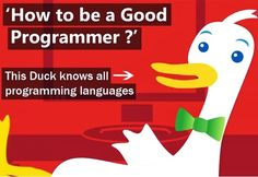 Learn How DuckDuckGo Search Engine helps you to be a Good Programmer Learn Computer Coding, Computer Programming Languages, Coding Languages, Learn Programming, Coding Jobs, Coding Class, Computer Technology, Computer Science, Coding For Beginners