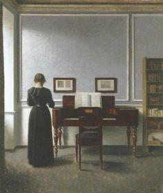 strandgade 30, intérieur  1901
