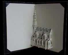Westerkerk, by Ingrid Siliakus... Na simplicidade de uma folha de papel...