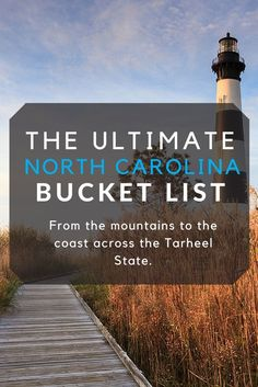 From the mountains to the coast, we've got a ton of ways you can get to know the Tarheel State. #NorthCarolina