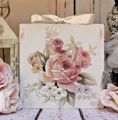 """Shabby Chic French Country Cottage style Wall Decor Sign ~ """"Pink French Roses"""" for sale online Shabby Chic Decor Living Room, Shabby Chic Bedrooms, Shabby Chic Kitchen, Shabby Chic Cottage, Bedroom Vintage, Shabby Chic Homes, Cottage Style, Romantic Shabby Chic, Vintage Shabby Chic"""