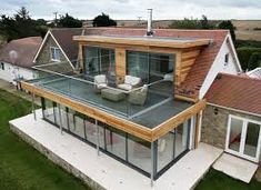 Image result for modern flat and pitched roof