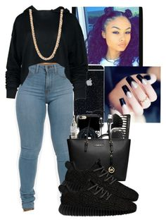 """#LilMama"" by kirajones181 on Polyvore featuring Forever 21 and adidas Originals"