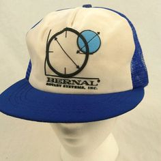 Vintage Bernal Rotary Systems Inc Trucker Hat Baseball Cap Mesh Snapback #MadeinUSA #TruckerHat