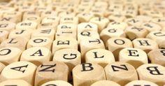 White Alphabet Dice · Free Stock Photo