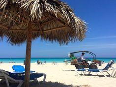 Varadero Beach Resort Cuba Palmtrees Caribbean Sea