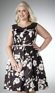 Claire Richards for Fashion World, lovely! #plussize #plussizedress #psfashion
