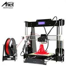 Cheap impresora Buy Quality reprap directly from China printer Suppliers: Anet Cheap printer Kit High Precision Reprap printer DIY Free SD Card+LCD Screen impresora Desktop 3d Printer, 3d Printer Kit, Screen Printer, Best 3d Printer, 3d Printer Supplies, Diy Desktop, Dog Supplies, Printer Stand, 3d Printing Diy